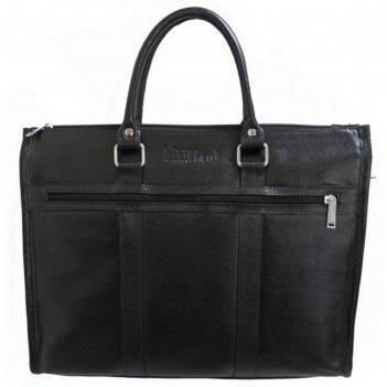 Сумка мужская, 38х6х31 см, отдел на молнии, наружный карман, цвет чёрный м