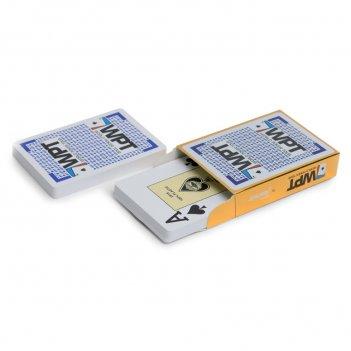 Карты для покера fournier wpt gold 100% пластик, испания