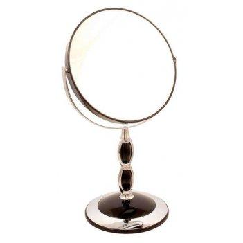 Зеркало b7 8066 blk/c black наст. кругл. 2-стор. 5-кр.ув.18