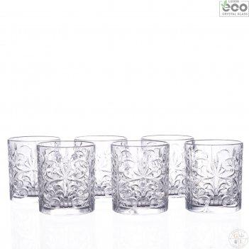 Набор стаканов для виски rcr tattoo 330мл (6 шт)