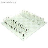 Шахматы пьяные, прозрачная доска