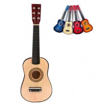 Гитара 23 дюйма, в ассорт., коробка (англ.упак.)