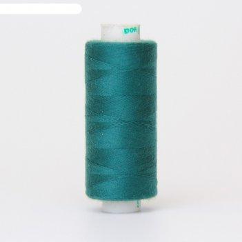 Нитка дор-так pl 40/2 400 ярд, цвет зелёный 566 к09