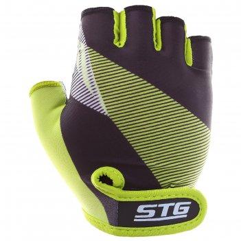 Перчатки велосипедные stg х87911, размер l