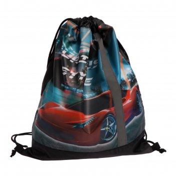 Мешок для обуви, 460 х 360 мм, сдс-33, элит, светоотражающая полоса, stree