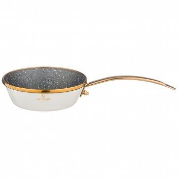 Сковорода agness эмалированная с антипригар. мраморным покрытием, 12см