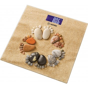 Весы напольные ножки на песке hottek ht-962-008 30*30 см макс.вес 180кг (к