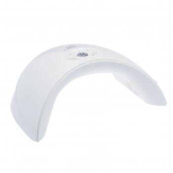 Лампа для гель-лака tnl mood, uv-led, 36 вт, белая