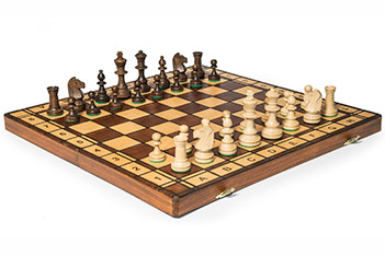 Шахматы подарочные йовиш 42х42см