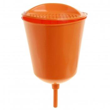Рукомойник оранжевый, 3 л