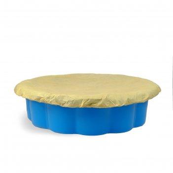Песочница ракушка с тентом, микс