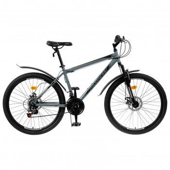 Велосипед 26 progress модель advance disc rus, цвет серый, размер 17
