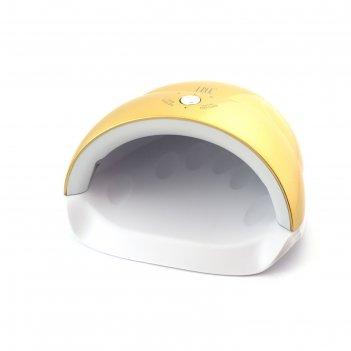 Лампа для гель-лака tnl quick, uv/led, 24 вт, 5 диодов, таймер 30/60/90 с,