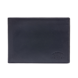 Бумажник klondike dawson, натуральная кожа в черном цвете, 13 х 1,5 х 9,5
