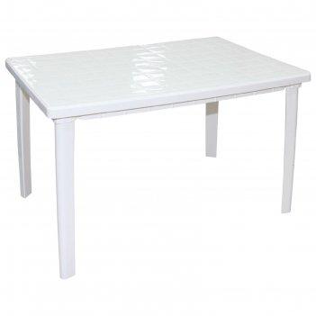 Стол прямоугольный размер 1200х850х750, цвет белый