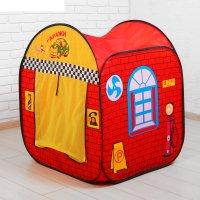 Палатка игровая гараж, сумка