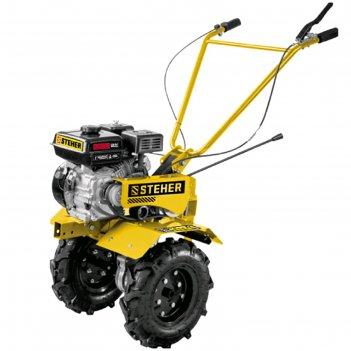 Мотоблок steher gt-300, бенз., 7 л.с., 5.15 квт, 212 см3, ширина/глубина 8