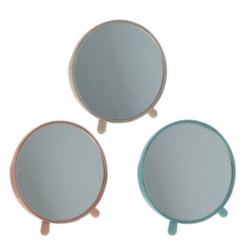 Зеркало настольное, l17 w11 h16 см, 3в.