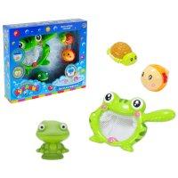 Игрушка для ванной веселая рыбалка с лягушонком