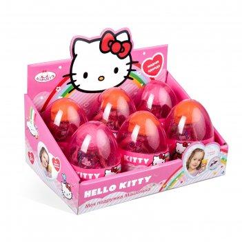 Кукла hello kitty, 12 см, в яйце, цвета микс