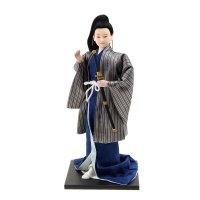 Кукла коллекционная самурай с мечом