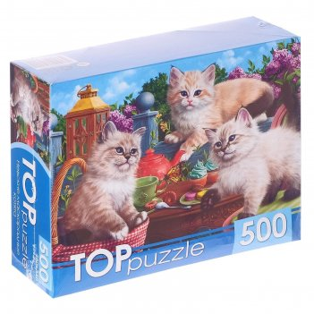 Пазлы 500 эл. невские маскарадные котята хтп500-5725