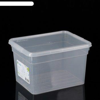 Контейнер для хранения с крышкой 5 л basic