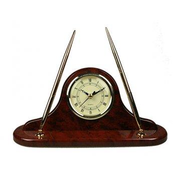 Часы настольные с ручкой brigant 27*13*8см