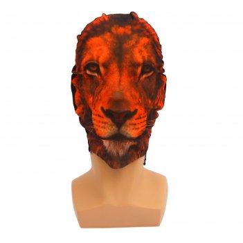 Карнавальная маска - чулок лев