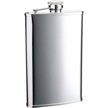 Фляга s.quire 0,24 л, сталь, серебристый цвет, 96x21x152 мм