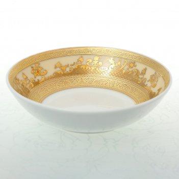 Набор розеток falkenporzellan cream gold 10см (6 шт)