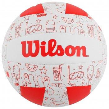 Мяч воллейбольный wilson seasonal, арт.wth10320xb, размер 5, 18 панелей, к