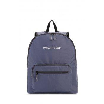 Рюкзак swissgear складной, серый, полиэстер, 33,5х15,5x40 см, 21 л