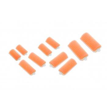Бигуди поролоновые dewal beautyоранжевые d 22ммx70мм(10шт/упак)