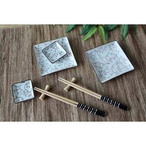 Набор для суши вьюн на 2 перс.(тарелки, соусники, палочки с держателлями,