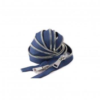 Молния для одежды, №8ст, 75 см, цвет синий