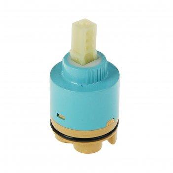 Картридж для смесителя, d=40 мм, механизм керамика, корпус пластик, высоки