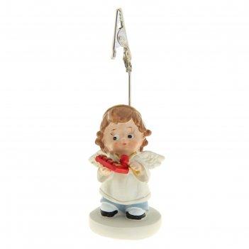Сувенир ангелочек-малыш с музыкальным инструментом с прищепкой, микс