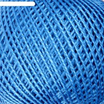 Нитки вязальные ирис 150м/25гр 100% мерсеризованный хлопок цвет 2508