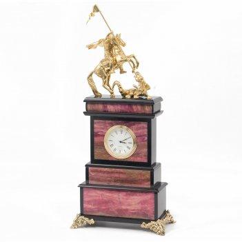 Часы георгий победоносец родонит бронза