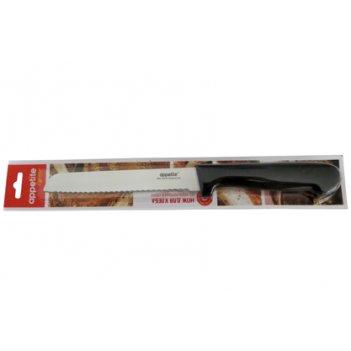 Нож гурман для хлеба 15см тм appetite