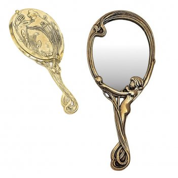 зеркала латунные