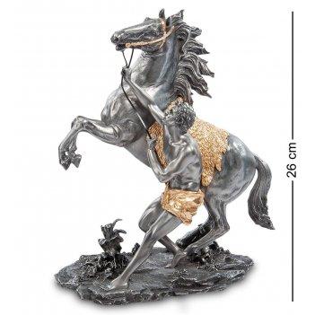 Ws- 76 статуэтка конь марли (гийом кусту)