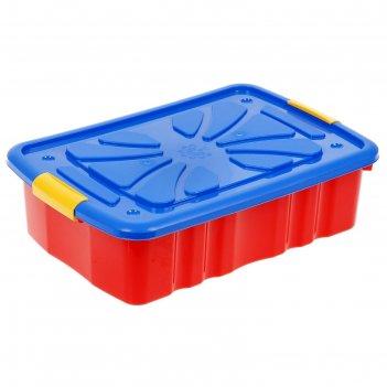 Ящик для игрушек на колесах 4330000 микс