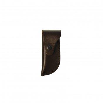 Чехол для складного ножа большой, с лезвием длиной 12-13,5 см, кожаный, ми