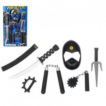 Набор оружия «ниндзя», 7 предметов
