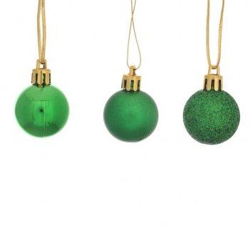 Набор из 15-ти шаров (зеленый), d3см