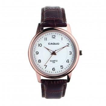 Часы наручные мужские баден, d=4 см