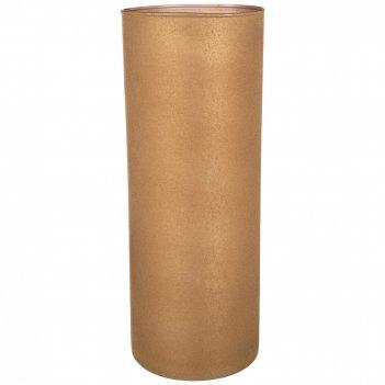 Ваза цилиндр velvet caramel высота 40см диаметр 15см