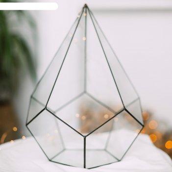 Флорариум пирамидка большая (швы черные)